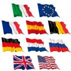 Set 10 bandiere